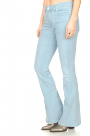 Lois Jeans |  L32 High waist flared jeans Raval | light blue  | Picture 6