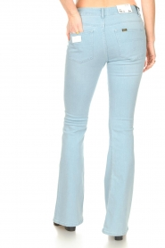 Lois Jeans |  L32 High waist flared jeans Raval | light blue  | Picture 8