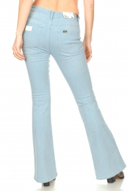 Lois Jeans |  L32 High waist flared jeans Raval | light blue  | Picture 7