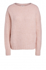 Set |  Knitted sweater Aya | pink  | Picture 1