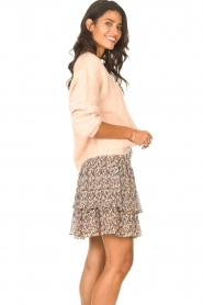 Set |  Knitted sweater Aya | pink  | Picture 5
