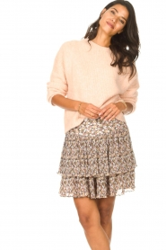 Set |  Knitted sweater Aya | pink  | Picture 2
