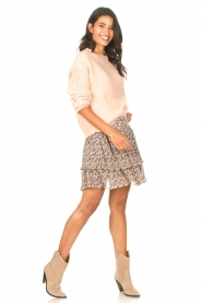 Set |  Knitted sweater Aya | pink  | Picture 3