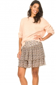 Set |  Knitted sweater Aya | pink  | Picture 4