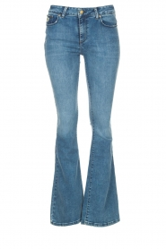 Lois Jeans |  L32 High waist flared jeans Raval | blue  | Picture 1