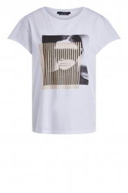 Set |  T-shirt with print May | white  | Picture 1
