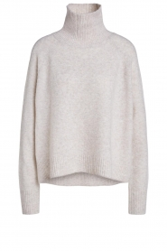 Set |  Knitted turtle neck sweater Pammy | natural  | Picture 1