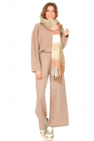 Set    Knitted pants Joy   brown    Picture 2