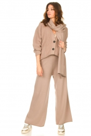 Set    Knitted pants Joy   brown    Picture 3