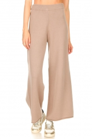 Set    Knitted pants Joy   brown    Picture 4