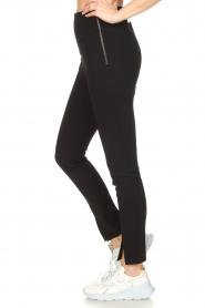 Set |  Split stretch legging Koko | black  | Picture 6