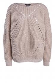 Set |  Openwork sweater Noor | beige   | Picture 1