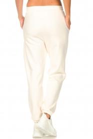 Set |  Basic sweatpants Maya | white  | Picture 6