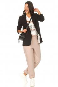 Set    Basic sweatpants Maya   taupe    Picture 2