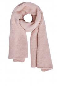 Set | Gebreide sjaal Aisha | roze  | Afbeelding 1