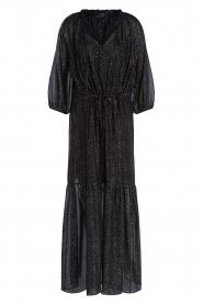 Set    Lurex maxi dress Gigi   black    Picture 1