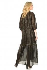 Set    Lurex maxi dress Gigi   black    Picture 6