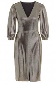 Set |  Metallic dress Lori | silver  | Picture 1