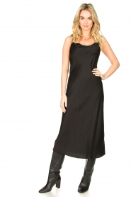 Set |  Slip dress Jill | black  | Picture 2