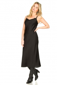 Set |  Slip dress Jill | black  | Picture 4