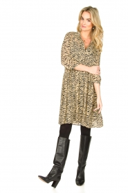 Set |  Animal print dress Holly | animal print  | Picture 4