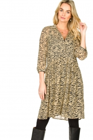 Set |  Animal print dress Holly | animal print  | Picture 2
