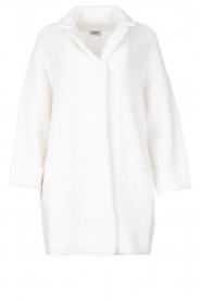 Liu Jo |  Long knitted cardigan Maglia | white  | Picture 1
