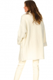Liu Jo |  Long knitted cardigan Maglia | white  | Picture 6