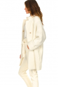 Liu Jo |  Long knitted cardigan Maglia | white  | Picture 5