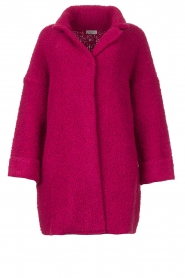 Liu Jo |  Long knitted cardigan Maglia | pink  | Picture 1