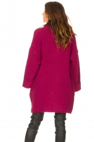Liu Jo |  Long knitted cardigan Maglia | pink  | Picture 7