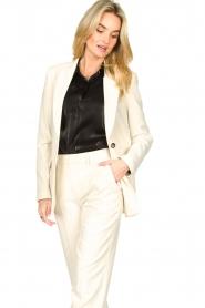 Set |  Long blazer Fee | white  | Picture 6