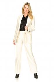 Set |  Long blazer Fee | white  | Picture 3