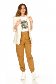 Set |  Long blazer Fee | natural  | Picture 3