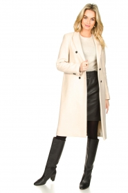 Set |  Classic coat Zoe | natural  | Picture 3