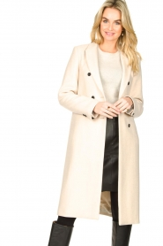 Set |  Classic coat Zoe | natural  | Picture 2