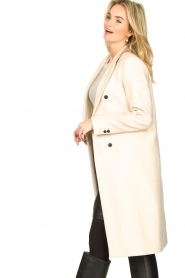 Set |  Classic coat Zoe | natural  | Picture 5