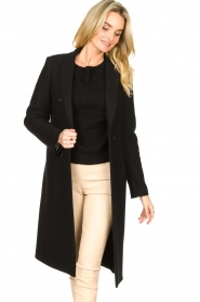 Set |  Classic coat Zoe | black  | Picture 2