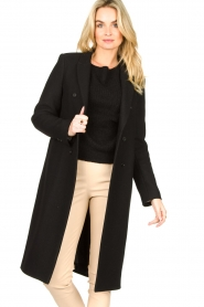 Set |  Classic coat Zoe | black  | Picture 4