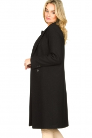 Set |  Classic coat Zoe | black  | Picture 5