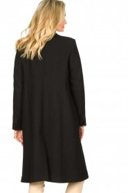 Set |  Classic coat Zoe | black  | Picture 6