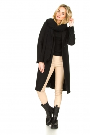 Set |  Classic coat Zoe | black  | Picture 3