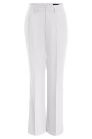 Set |  Flared trousers Lynn | white  | Picture 1