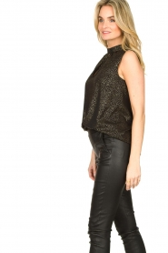 Set |  Sleeveless lurex top Jaelle | black  | Picture 5