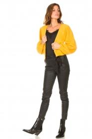 Liu Jo |  Knitted cardigan Jara | yellow  | Picture 3