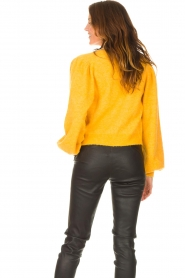 Liu Jo |  Knitted cardigan Jara | yellow  | Picture 6