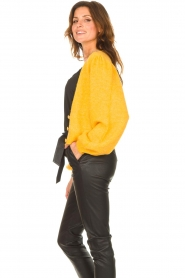 Liu Jo |  Knitted cardigan Jara | yellow  | Picture 5