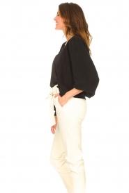 Liu Jo |  Knitted cardigan Jara | black  | Picture 6