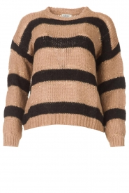 Liu Jo |  Sweater with sequins Jenna | black  | Picture 1