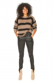 Liu Jo |  Sweater with sequins Jenna | black  | Picture 3